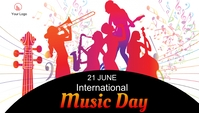 Music day event blog Header post template