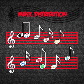 Music Distribution Message Instagram template