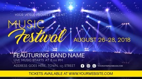 Music Event Festival Video Template