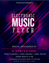 MUSIC FEST FESTIVAL Event Flyer Template