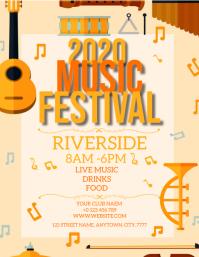MUSIC FEST FESTIVAL FLYER TEMPLATE