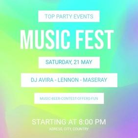 Music Fest Template