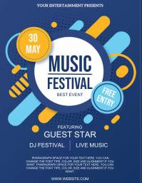 MUSIC FESTIVAL EVENT Design Template
