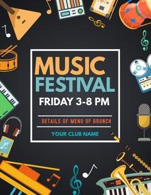 music festival flyers
