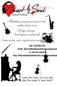 Music Lesson Recruitment Flyer