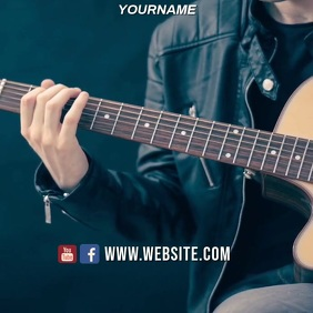 MUSIC LESSONS AD SOCIAL MEDIA TEMPLATE