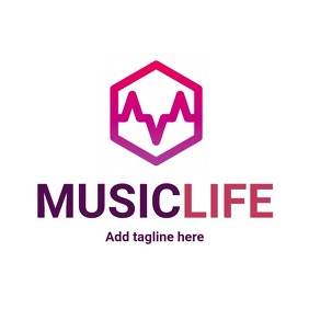 music life colorful logo