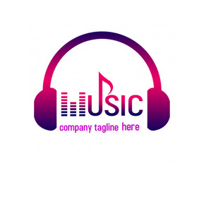 Music logo 徽标 template
