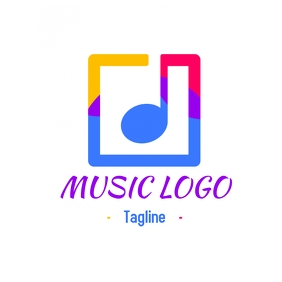 Music logo design