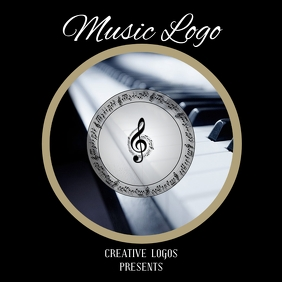 MUSIC LOGO STICKER