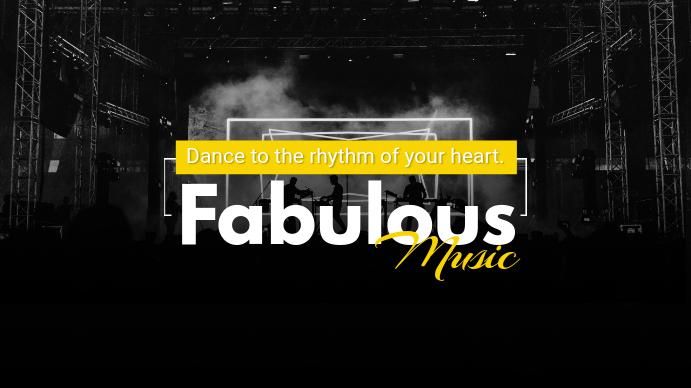 Music Magazine YouTube Channel Banner