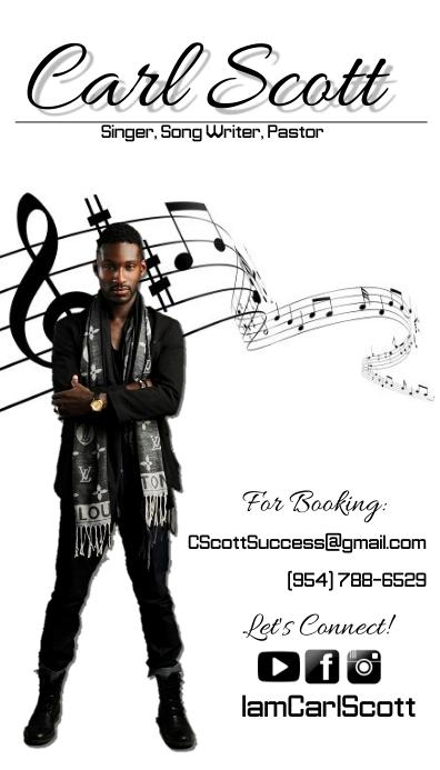 Music Media business card