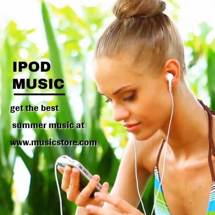 MUSIC MODEL VIDEO TEMPLATE