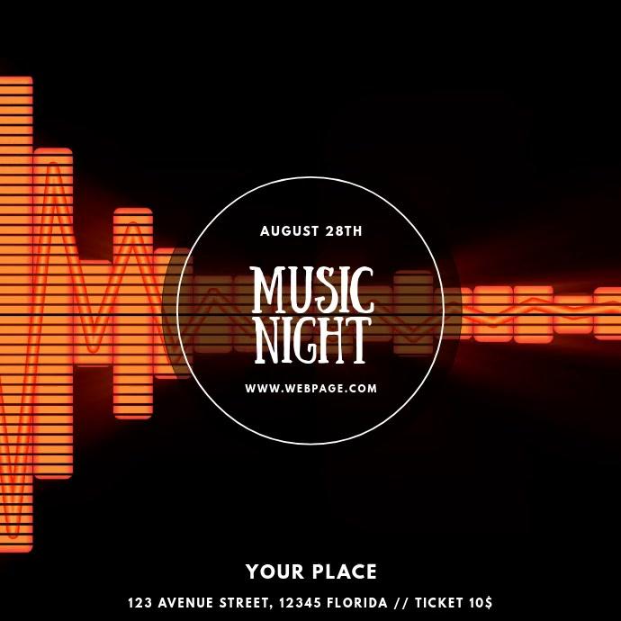 Music Night Party Dj video template