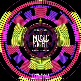 Music Night Party Dj video template