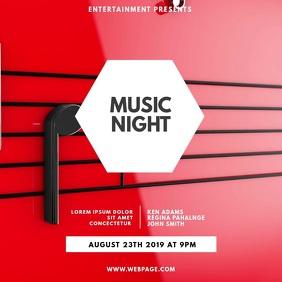 Music Night Party Video Design Instagram