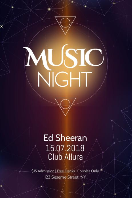 Music Night Poster