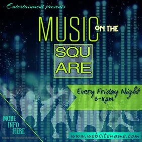 Music on the Square Digital Ad