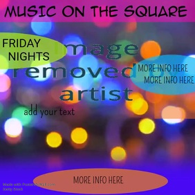 Music on the Square Video