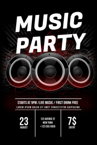 music party Flyer Template
