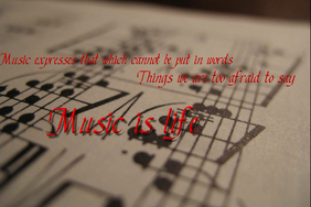 Music Quote Template