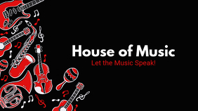 Music Review Blog YouTube Banner template