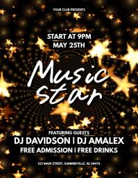 Music Star Flyer
