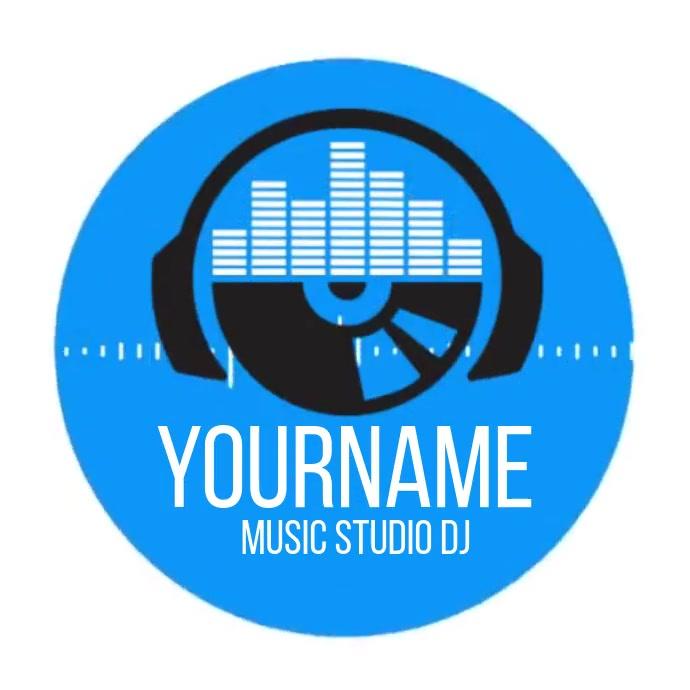 MUSIC STUDIO LOGO SOCIAL MEDIA TEMPLATE