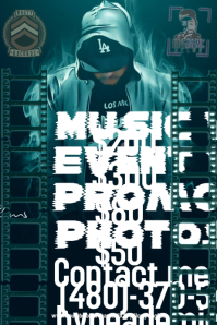 customizable design templates for rap postermywall