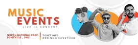 Musical Event Invitation Email Header Koptekst e-mail template