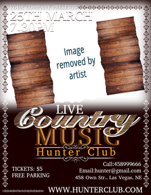 Musical Night poster Template