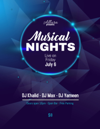 Musical Nights Flyer