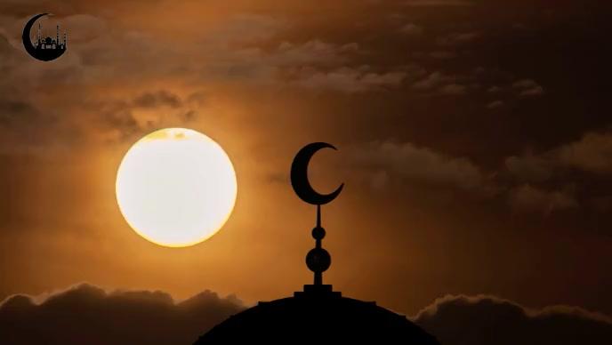 muslim islam mosque video YouTube-miniature template