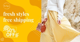 Mustard New Arrivals Facebook Shop Cover