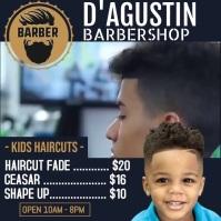 My Barbershop 2 Publicación de Instagram template