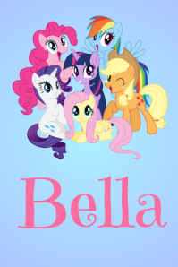 My Little Pony Name Poster