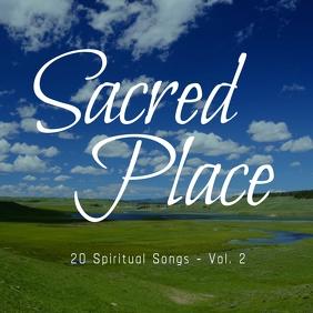 My Sacred Place gospel church album cover Ikhava ye-Albhamu template