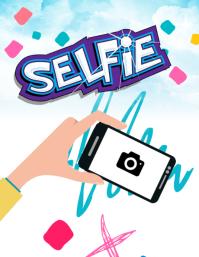 My Selfie ใบปลิว (US Letter) template