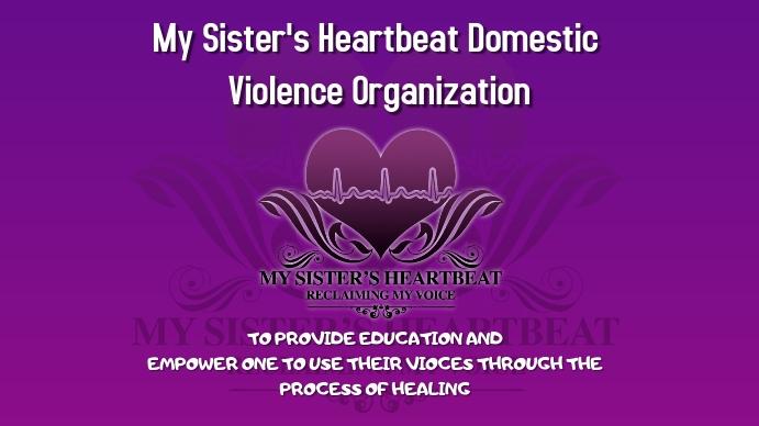 My sisters Heartbeat Digital na Display (16:9) template