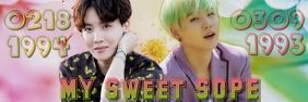 My Sweet Sope Banner 2' × 6' template