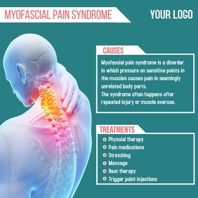 Myofascial Pain Syndrome Instagram Post template