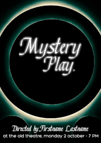 Mystery Play at the theatre
