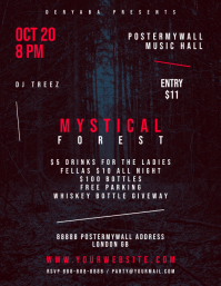 Mystical Forest Flyer Template