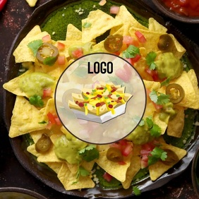 NACHO LOGO DESIGN VIDEO DIGITAL TEMPLATE AD