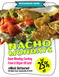 Nacho Mondays Flyer