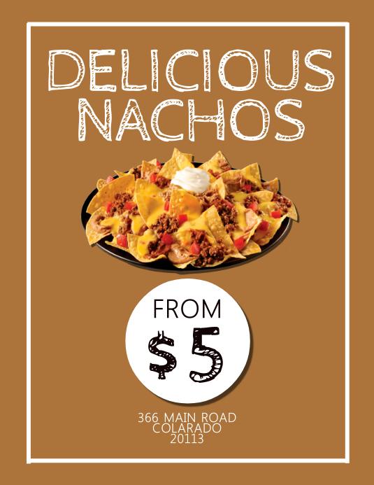 Nacho Nights Flyer ad Template