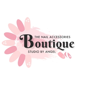 Nail Boutique Logo template