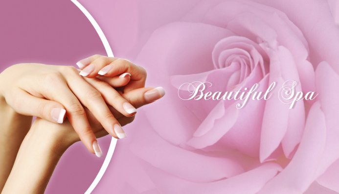 nail business card