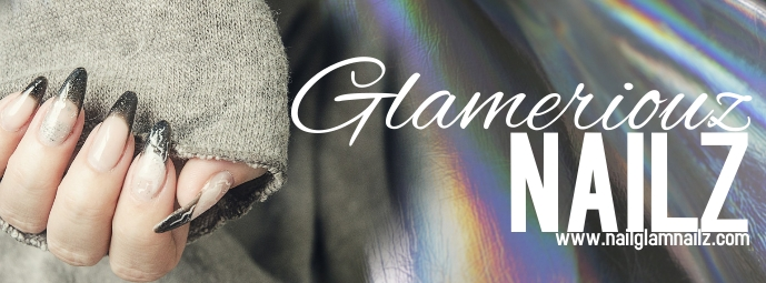 Nail Design Beauty Facebook Banner template