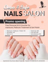 Nail Salon Advert Flyer